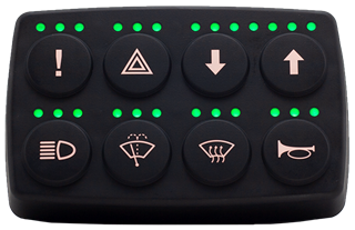 CL-614 (2x4) CAN Keypad
